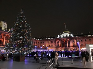 Somerset House ice rink © Memoirs Of A Metro Girl 2018
