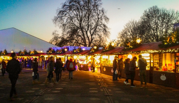 Winter Wonderland Christmas market © Memoirs Of A Metro Girl 2015