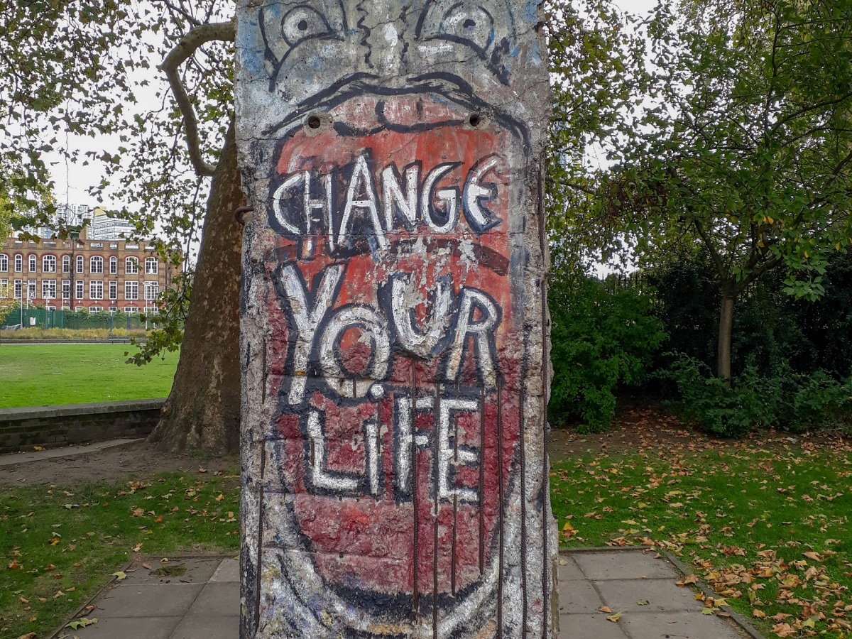 Berlin Wall London © Memoirs Of A Metro Girl 2019