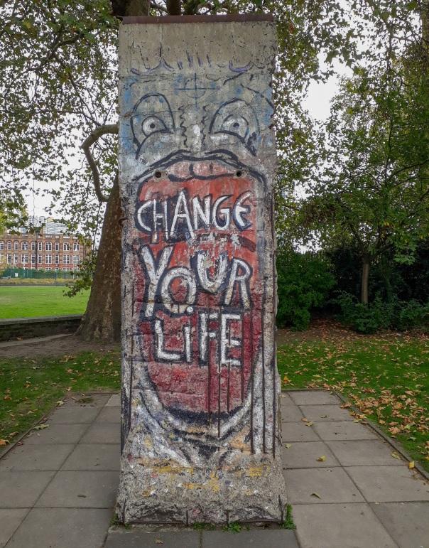 Berlin Wall London © Memoirs Of A Metro Girl 2019
