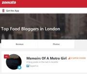 zomato london blogger dec 2018
