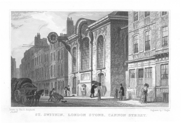 London Stone - the myths and history of this City landmark explored