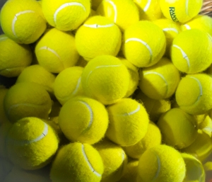 Pile of tennis balls © Memoirs Of A Metro Girl 2019