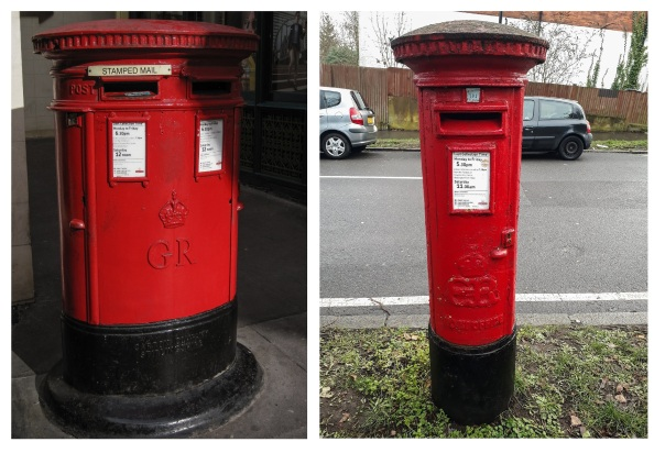 Royal Mail box George V Edward VIII © Memoirs Of A Metro Girl 2019