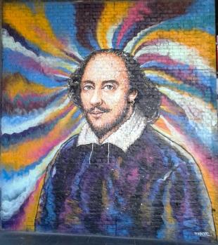 Shakespeare Jimmy C mural © Memoirs Of A Metro Girl 2019