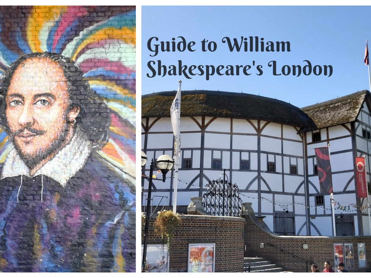 William Shakespeare's London landmarks © Memoirs Of A Metro Girl 2019
