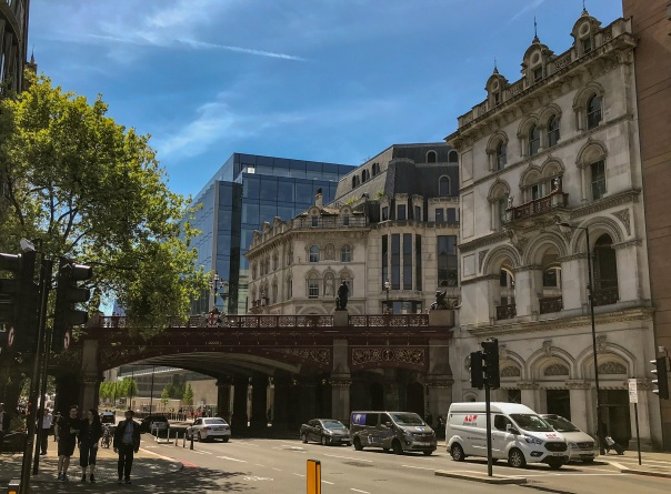 Holborn Viaduct © Memoirs Of A Metro Girl 2019