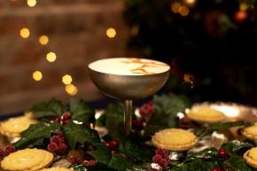The Little Yellow Door Mince Pie Rum Sour Martinis