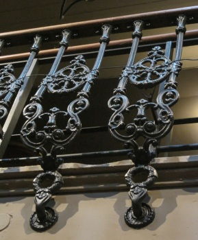 Hoxton Hall railings © Memoirs Of A Metro Girl 2019