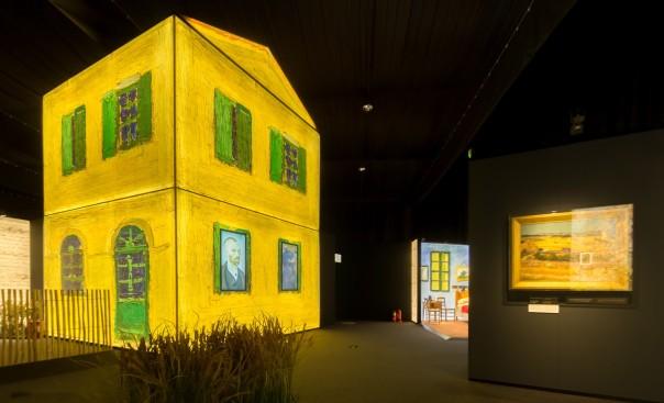 Installation view of Meet Vincent van Gogh. Image courtesy of Meet Vincent van Gogh