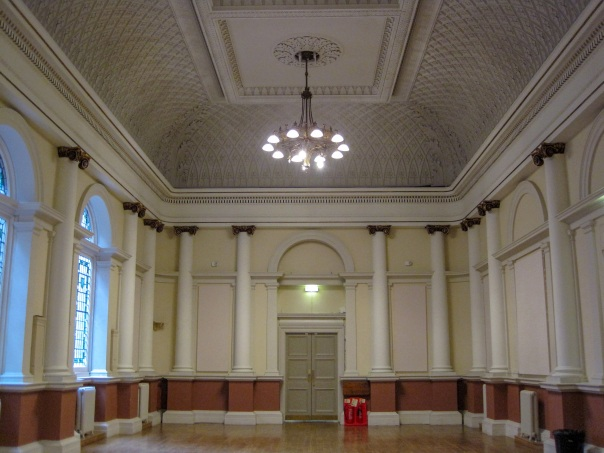 Shoreditch Town Hall council chamber © Memoirs Of A Metro Girl 2020