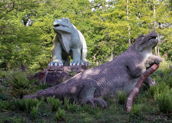 Crystal Palace Dinosaurs Iguanodon © Memoirs Of A Metro Girl 2020