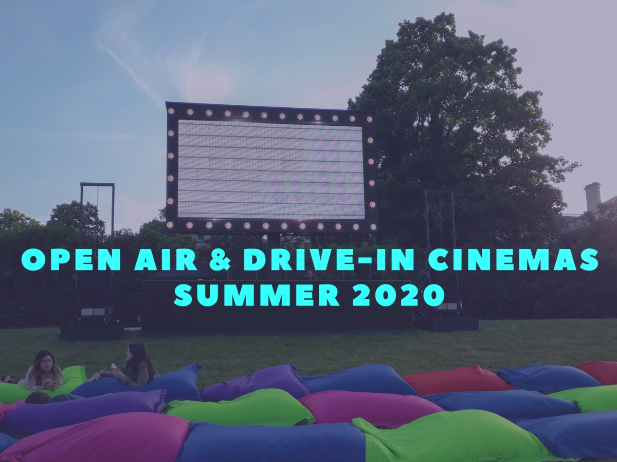 Open air drive in cinemas © Memoirs Of A Metro Girl 2020