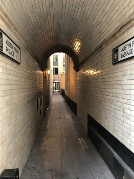 Austin Friars passage © Memoirs Of A Metro Girl 2020