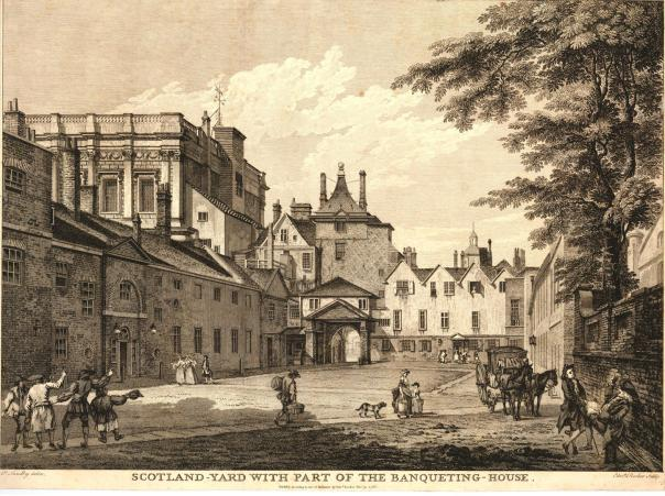 Scotland Yard 18th century Edward Rooker 1766