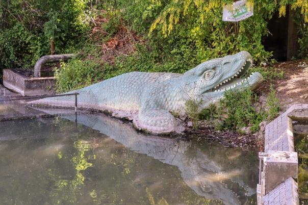 Crystal Palace Dinosaurs Mosasaurus © Memoirs Of A Metro Girl 2020