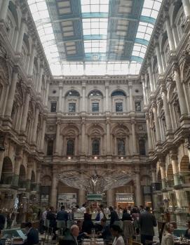 Royal Exchange interior © Memoirs Of A Metro Girl 2020