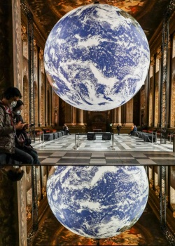 Gaia installation at Old Royal Naval College