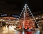'Traditionally untraditional' Christmas lights up King's Cross with three spectaculartrees