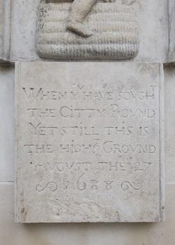 Panyer Boy plaque